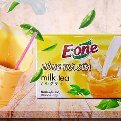 HỒNG TRÀ SỮA hòa tan Eone Milk Tea - Hộp 10 gói x 20g tại Gu Mộc giá sỉ