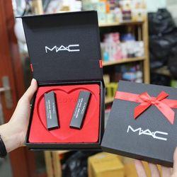 Set quà tặng 2 thỏi son siêu lì MAC giá sỉ