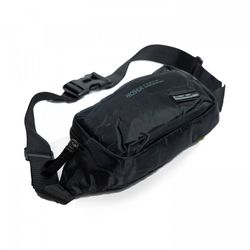 Túi bao tử đeo chéo Haoshuai vải dù màu đen bền đẹp TDC0027 giá sỉ, giá bán buôn