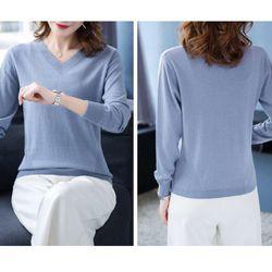 Áo len dài tay đơn giản giá sỉ