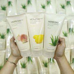 Sữa rửa mặt Herb Day 365 Cleansing Foam Hàn Quốc giá sỉ