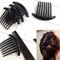 Xược búi tóc nhựa trơn giá sỉ