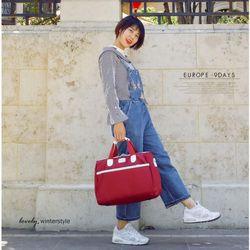 Túi xách túi trống du lịch phối màu hàn quốc hành lý DUFFEL-2AR Shalla giá sỉ, giá bán buôn