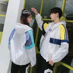 Áo khoác dù cặp đôi phối nhiều màu cool giá sỉ