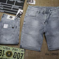 quần short nam slimfit - BẠC XANH - size 28-34 giá sỉ