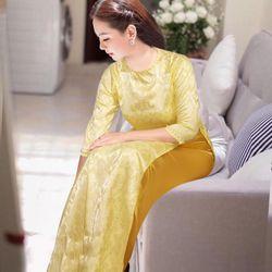 áo dài truyền thống siêu xinh