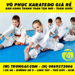 võ phục karatedo giá rẻ tại tphcm