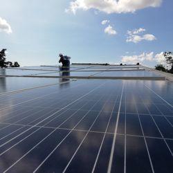 Đèn Led năng lượng Đèn rời 100W Solar giá sỉ