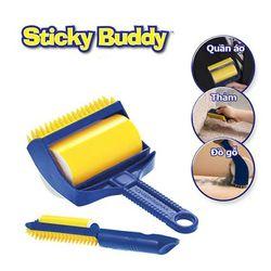 Cây lăn bụi quần áo đa năng Sticky Buddy - Huy Tưởng giá sỉ