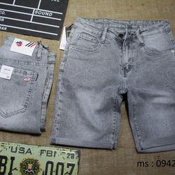 quần short nam slimfit - XÁM NHẠT - size 28-34 giá sỉ