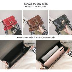 Túi Nữ Đeo Chéo Thời Trang Dây Bản To Phong Cách Hàn Quốc D8403 giá sỉ, giá bán buôn