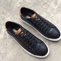 giày thể thao nam buộc dây chất da mềm mẫu 2019 giá sỉ