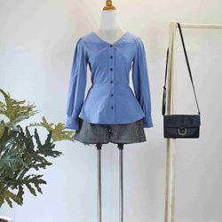 Set áo xanh quần đùi giá sỉ