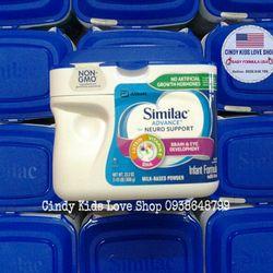 Sữa Similac Advance Non Gmo 658g 0- 12 tháng có bill Mỹ giá sỉ