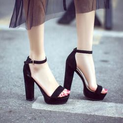 Giày sandal cao gót 12f giá sỉ