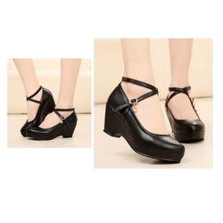 Giày sandal đế xuồng quai chéo giá sỉ, giá bán buôn