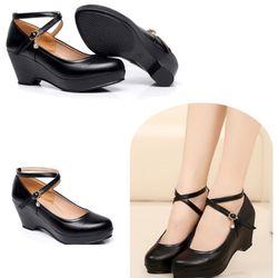 Giày sandal đế xuồng quai chéo giá sỉ