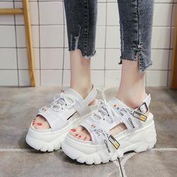 Giày sandal đế xuồng cột dây giá sỉ, giá bán buôn
