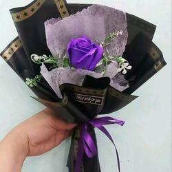 Hoa sáp 1 bông xòe giá sỉ