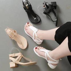 Sandal xỏ ngón hở gót - SD357