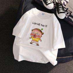 Áo thun in hình icon cute giá sỉ, giá bán buôn