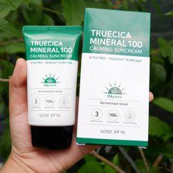 Kem chống nắng Some By Mi truecica mineral 100 calming suncream SPF50/PA 50ml giá sỉ
