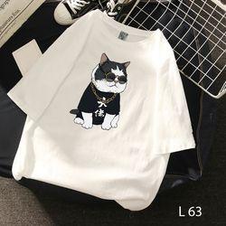 Áo thun hình cute in giá sỉ