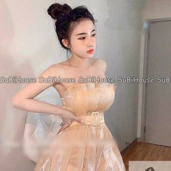 Đầm Ôm Xếp Li giá sỉ