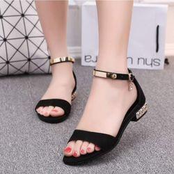 Sandal gót kiểu cao cấp giá sỉ