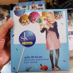 Quần tất 3D SK trẻ em giá sỉ