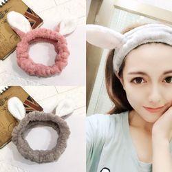 Băng đô turban lông mịn mẫu tai thỏBDPA5C5 giá sỉ