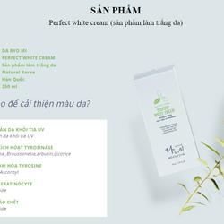 Kem Dưỡng Trắng Da Mặt Perfect White Cream - Mỹ Phẩm Hàn Quốc giá sỉ, giá bán buôn