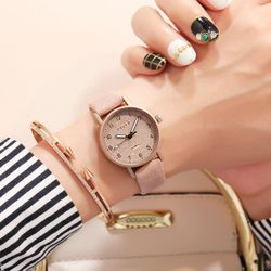 Đồng hồ nữ Douko dây da cao cấp mặt nhỏ xinh size 28mm giá sỉ