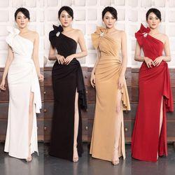 Đầm Dạ Hội Nơ Kiểu Kiêu Sa Cao Cấp giá sỉ