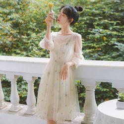 Đầm nữ dự tiệc đầm lưới thêu đính kim sa phù hợp đi chơi đi tiệc đi chụp ảnh full màu full size S M L