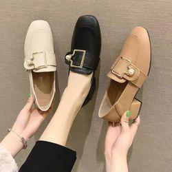 Giày mọi gót cao khoá xinh giá sỉ