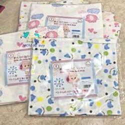 khăn tắm in hoa 4 lớp xuất Nhật giá sỉ