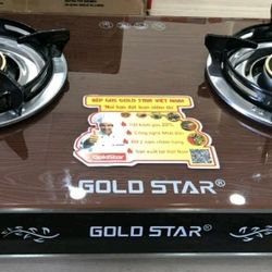 Bếp gas Gold star Gs -02 - Khay rời giá sỉ