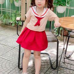 Set váy cotton cho bé giá sỉ