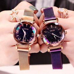 Đồng hồ nữ dây nam châm titanium cao cấp LSVTR giá sỉ