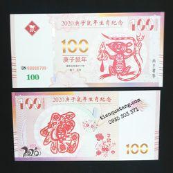 Sỉ Tiền Con Chuột 100 Macao Patacas 2020 giá sỉ