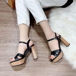 Giày sandal cao gót đúp cao 10f giá sỉ