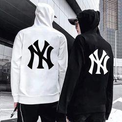 áo nữ màu trắng in New York nỉ nhập