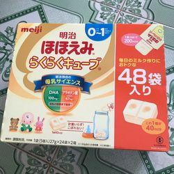 Sữa Meiji số 01 Nhật Bản loại 48 thanh – sữa dànhcho bé từ 0 đến 12 tháng tuổi giá sỉ