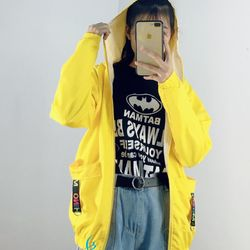 Áo khoác dù nữ in chữ NEW