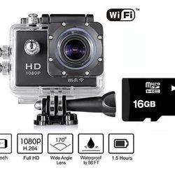Camera Hành Trình Thể Thao Full 1080HD Camera Sport A9 tặng kèm thẻ nhớ 16GB giá sỉ