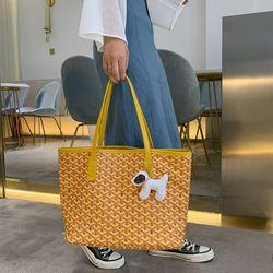 Túi đeo Vai Đan Cách Điệu Kèm Móc Khóa Cún D661 giá sỉ giá bán buôn