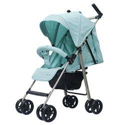 Xe đẩy trẻ em ALB1VN khung Aluminum siêu nhẹ - Xanh Mint giá sỉ