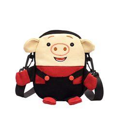 Túi xách nữ 2019 Chất Vải Em Lợn Dễ Thương D122 giá sỉ giá bán buôn giá sỉ