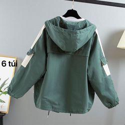 áo khoác kaki 6 túi 2 lớp cao cấp giá sỉ
